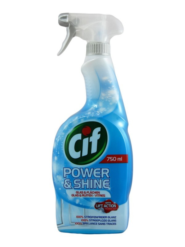 Spray do szyb Cif Power & Shine Glas
